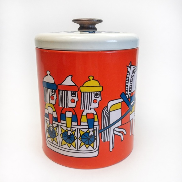 Vintage Ransburg Cookie Tin